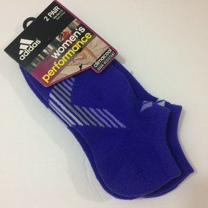 Adidas Climacool 2-pair Performance No-Show Socks